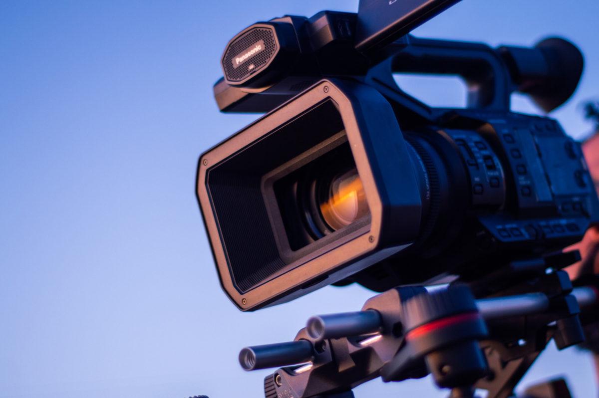 professional video camera